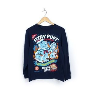 Ghostbusters Stay Puft Long Sleeve T-Shirt